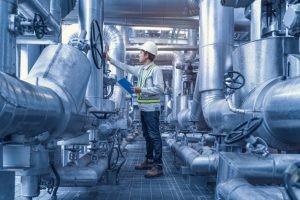 iFluids Engineering inspecting steel plant