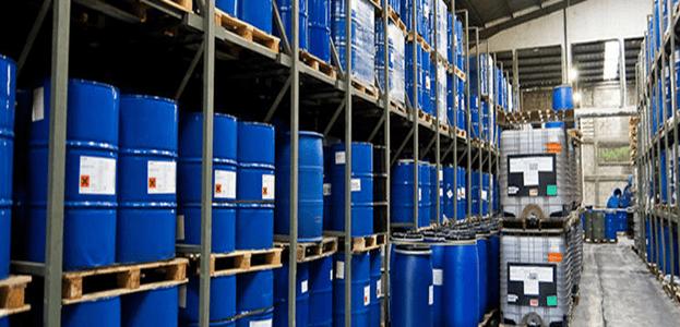 A Warehouse Storage